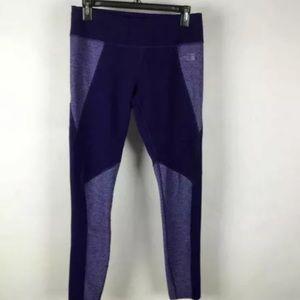 The North Face Purple Combo Legging Pants SZ M